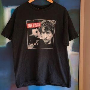 Vintage Bob Dylan band tee